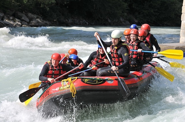 Na rafting z agencijo Maya